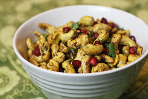 hot and sour cashews